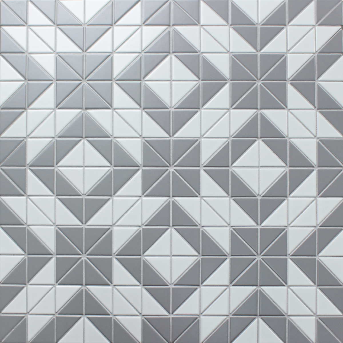 Black and white flooring tiles