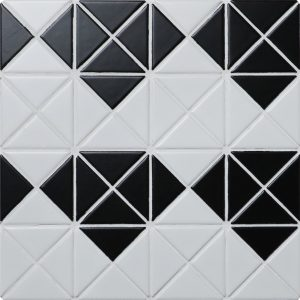 TR2-MD-MW-B_1 diamond pattern triangle mosaic tiles