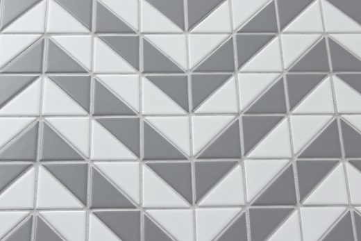 TR2-MWG-DD06A triangle mosaic porcelain bathroom tile