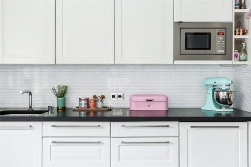 TR1-GWZ white triangle mosaic tile for kitchen backsplash