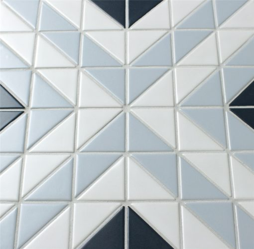 TR2-BLM-SQ2 Triangle Mosaic Geometric Tiles for sale
