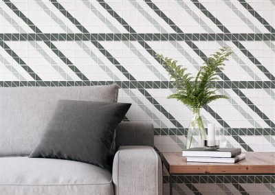 TR2-CH-R geometric wall tiles home decoration