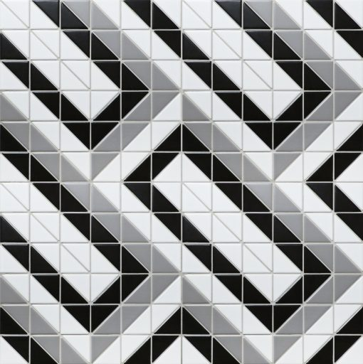 TR2-CL-RT geometric triangle mosaic tiles