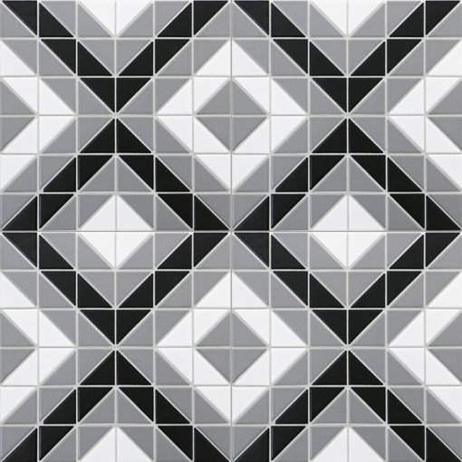 TR2-CL-SQ1 triangle geometric tile square pattern