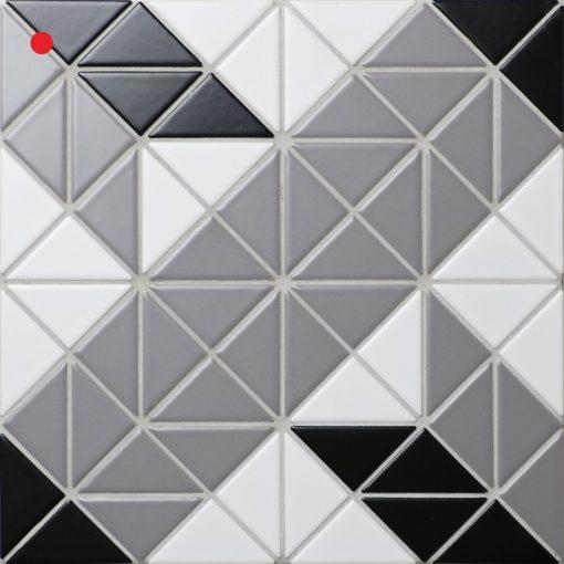 TR2-CL-TBL2 geometric tile mosaic