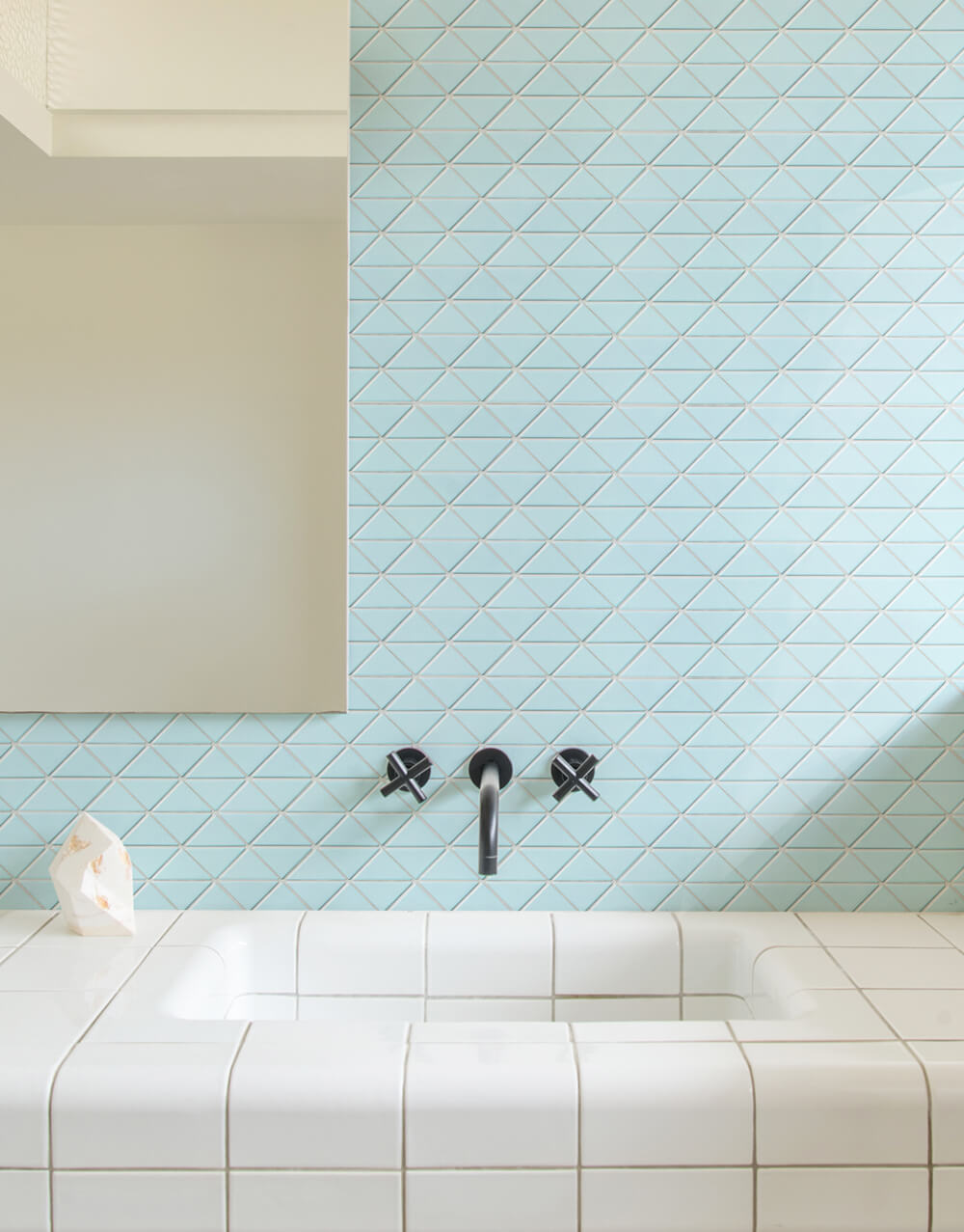 Bathrooms - ANT TILE • Triangle Tiles & Mosiacs • Floors, Kitchen ...