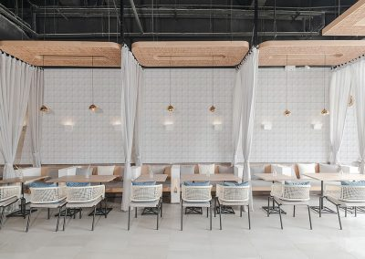 T4-CSS-PL_classic white triangle wall tiles for commerical cafe restaurant